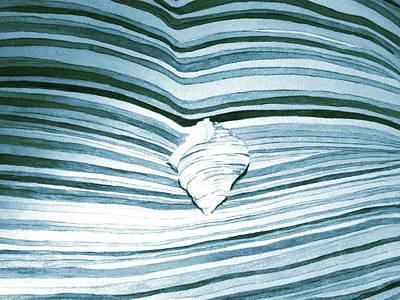 Blue Sea Art Print by Constance Larimer