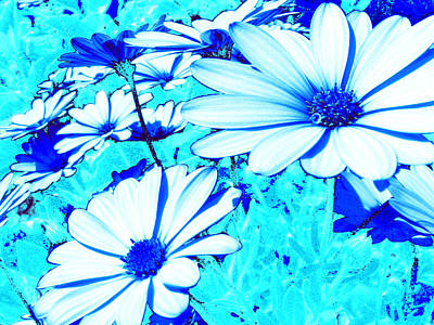 Blue Season Art Print by Ingrid Dance