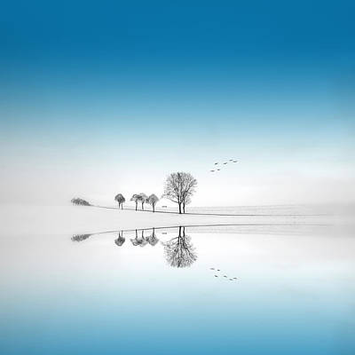 Blue Season Art Print by Philippe Sainte-Laudy