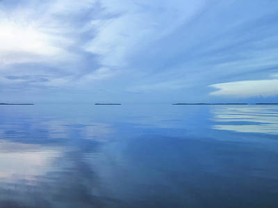 Photograph - Blue Serenity by Louise Lindsay