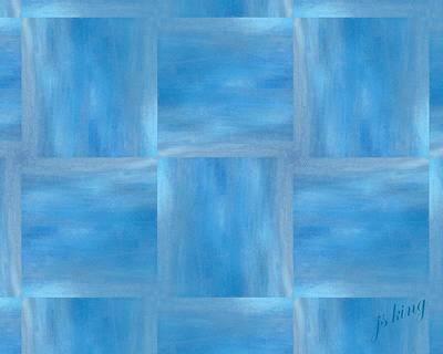 Thomas Kinkade - Blue Shades by Jacquie King