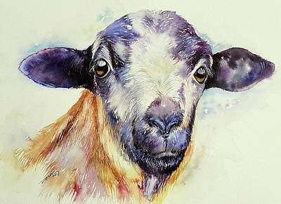 Painting - Blue Sheep by Arti Chauhan