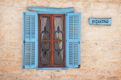Photograph - Blue Shutters by Jeremy Voisey