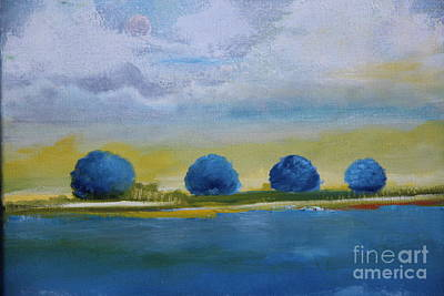 Painting - Blue Silences by Alicia Maury