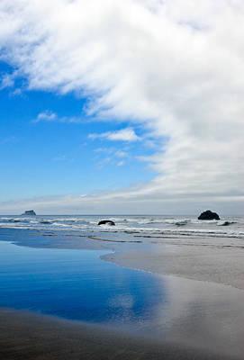 Photograph - Blue Sky Beaches by Athena Mckinzie