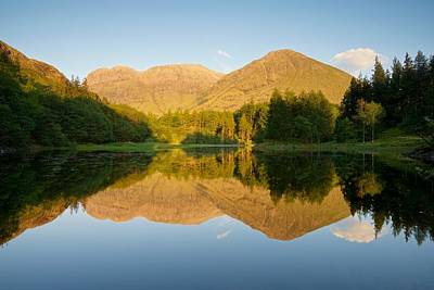 Photograph - Blue Skies At Torren Lochan by Stephen Taylor