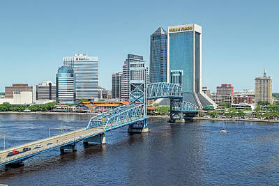 Photograph - Blue Skies Over Jacksonville by Kay Brewer