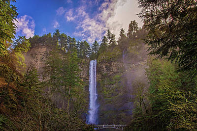 Photograph - Blue Skies Over Multnomah by Lynn Bauer
