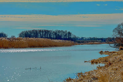Photograph - Blue Sky And Water #g1 by Leif Sohlman
