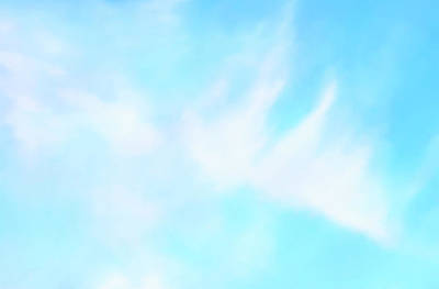 Blue Sky Art Print by Anton Kalinichev