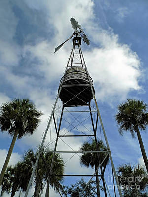 Photograph - Blue Sky At The Windmill by D Hackett