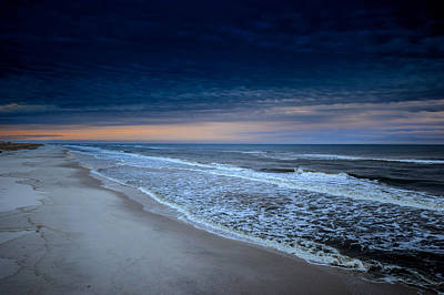 Photograph - Blue Sky Beach by Michael Thomas