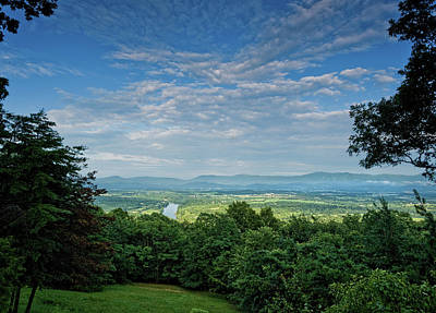Photograph - Blue Sky Blue Ridge by Lara Ellis
