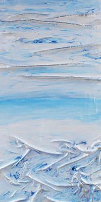Mixed Media - Blue Sky Blue Sea 2 by Angela Stout