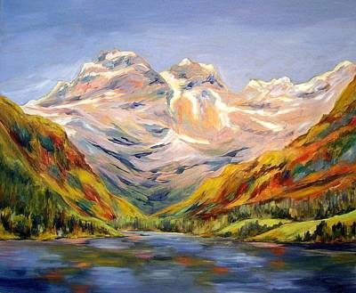 Painting - Blue Sky Day   by Nancy Day
