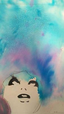 Painting - Blue Sky by Ed Heaton