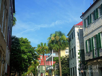 Photograph - Blue Sky In Charleston by John Rizzuto