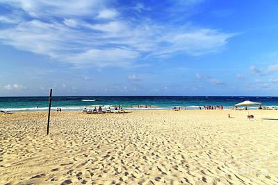 Photograph - Blue Sky In Punta Cana by John Rizzuto