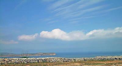 Photograph - Blue Sky Malta by Johanna Hurmerinta