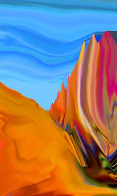 Digital Art - Blue Sky by Phillip Mossbarger