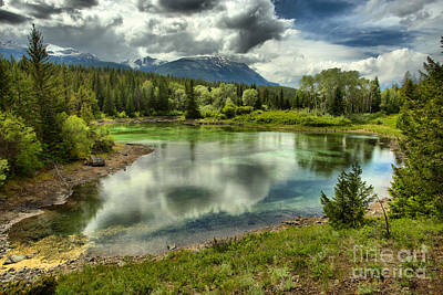 Photograph - Blue Sky Reflections In The Valle Of Five Lakes by Adam Jewell