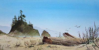 Blue Sky Seacoast Original by James Williamson