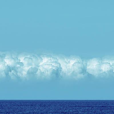 Music Figurative Potraits - Blue Space by Stelios Kleanthous