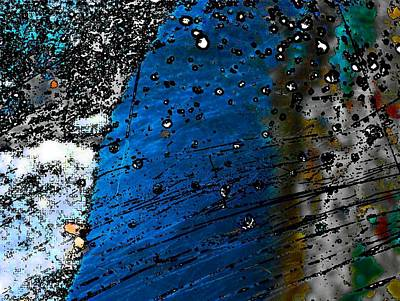 Blue Spectacular Art Print