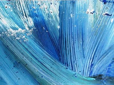 Photograph - Blue Splash by Sumit Mehndiratta