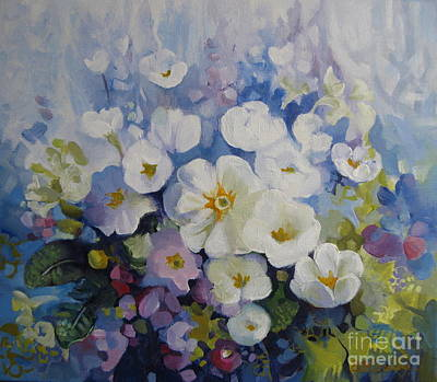 Painting - Blue Spring by Elena Oleniuc
