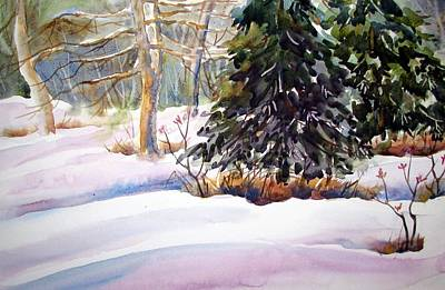 Blue Spruce Art Print by Chito Gonzaga