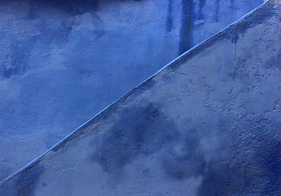 Photograph - Blue Stairs In Profile by Ramona Johnston
