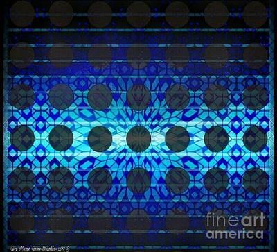 Wall Art - Digital Art - Blue Star by Lisa Marie Towne