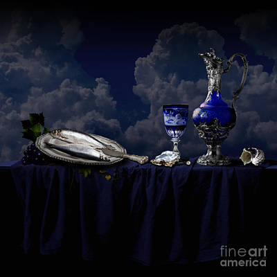 Photograph - Blue Still Life by Alexa Szlavics