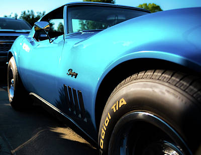 Photograph - Blue Stingray Vette by Anthony Doudt