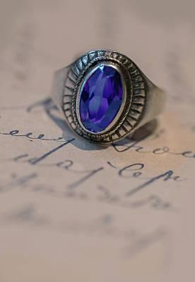 Photograph - Blue Stone by Jaroslaw Blaminsky