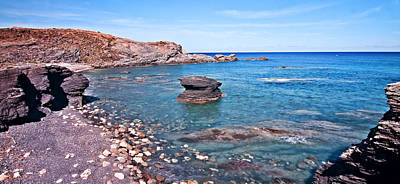 Photograph - Blue Stones Panorama 2 by Pedro Cardona Llambias