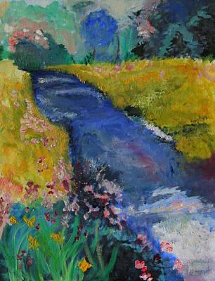 Blue Stream Original by Julie Lueders