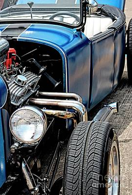 Photograph - Blue Street Rod by Ella Kaye Dickey
