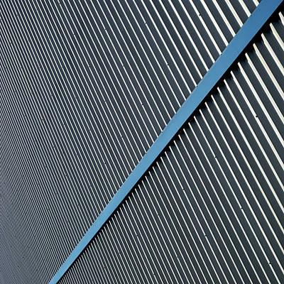 Photograph - Blue Stripe by Stuart Allen