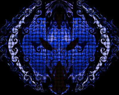 Digital Art - Blue by Subbora Jackson