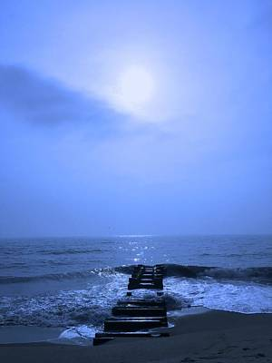 Photograph -  Blue Sunrise by Christina Schott