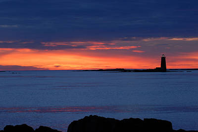 Fort Stark Photograph - Blue Sunrise by Dave O'Brien