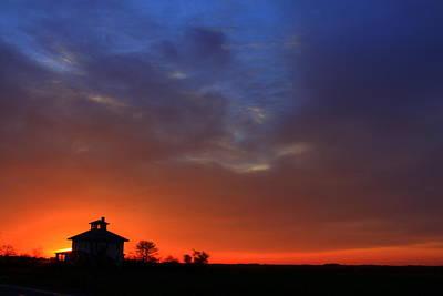 Photograph - Blue Sunrise by Suzanne DeGeorge