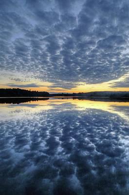 Photograph - Blue Sunset by John Meader