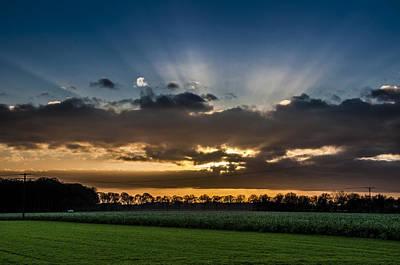 Herbstfarben Photograph - Blue Sunset by Kai Jarchow
