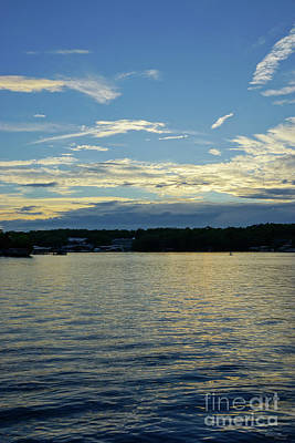 Photograph - Blue Sunset Lake Of Ozarks by Jennifer White