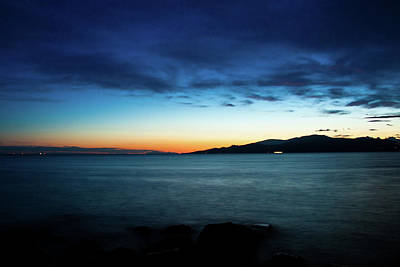 Photograph - Blue Sunset by Michael Thibault