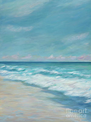 Blue Surf Art Print by Danielle Perry