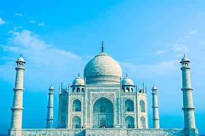 Photograph - Blue Taj Mahal Of India by Nila Newsom